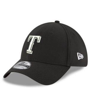 quality design b9d96 d6895 New Era Boys  Texas Rangers Dub Classics 39THIRTY Cap - Black Toddler