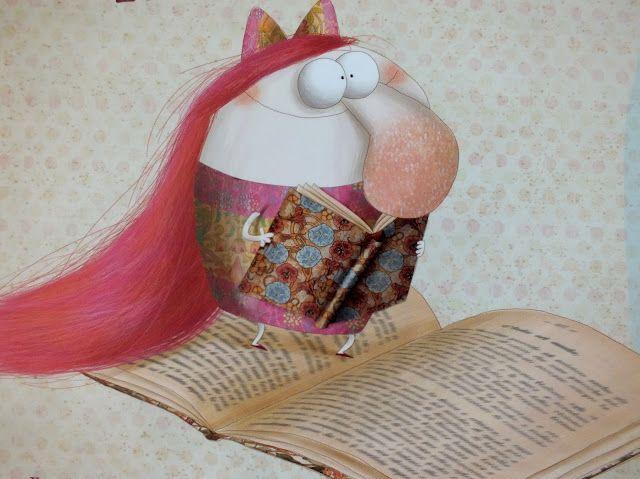 O Lobo Leitor: A pequena leitora de Anna Laura Cantone