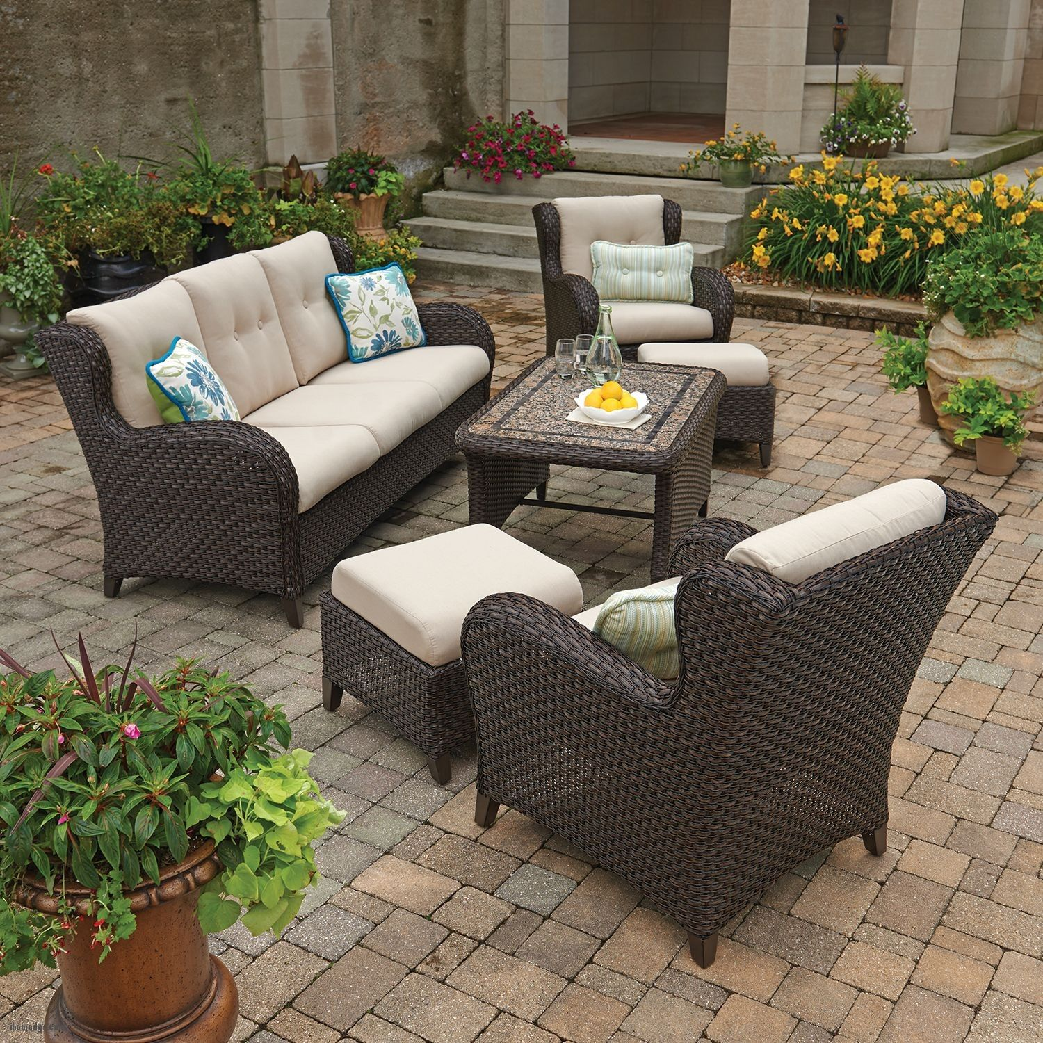 inexpensive patio furniture deep