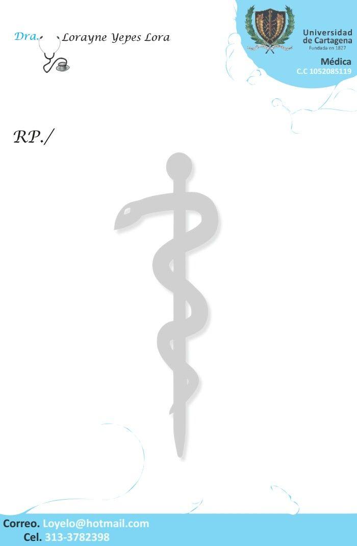 Recetario Medicina Medico   logos   Pinterest   Medical, Dental y Health