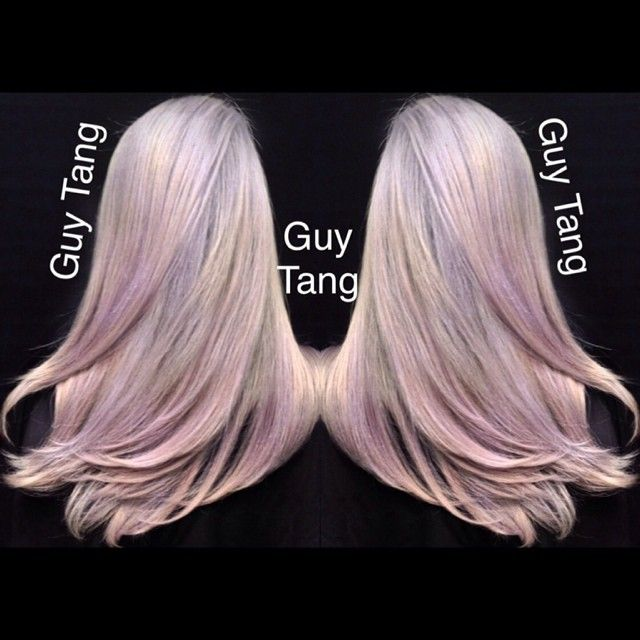 My Client Cindy Love Icy White Hair But She Also Has A History Of Very Porous Hair Due To Past Highlights I Used The Pravana Purple Sha Cabello Gris Cabello