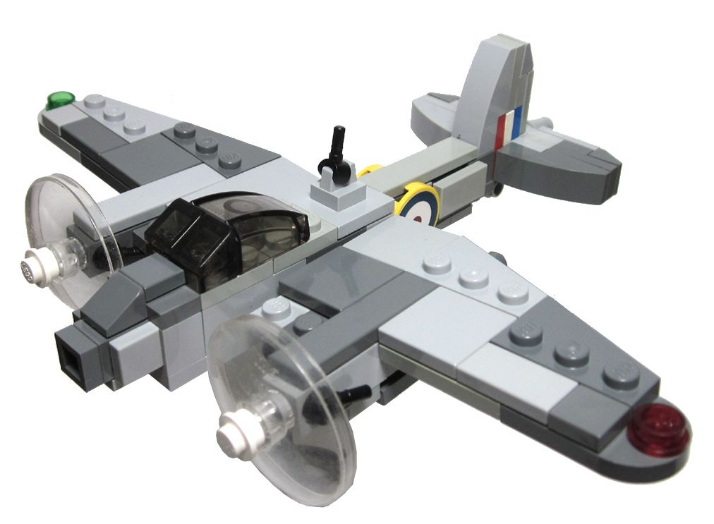 how to build an airplane out of legos