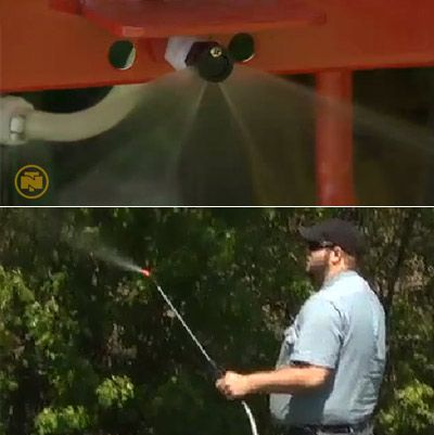 NorthStar 3-Pt  Boomless Broadcast and Spot Sprayer — 55