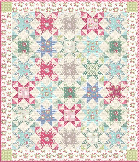 La Conner Stars Free Quilt Pattern | Quilting tips | Pinterest ... : pinterest quilting tips - Adamdwight.com