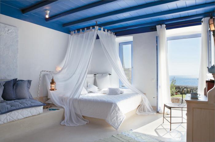 Exceptional Schlafzimmer Ideen Himmelbett #7: Himmelbett Vorhang - 55 Tolle Und Inspirierende Himmelbett-Beispiele!