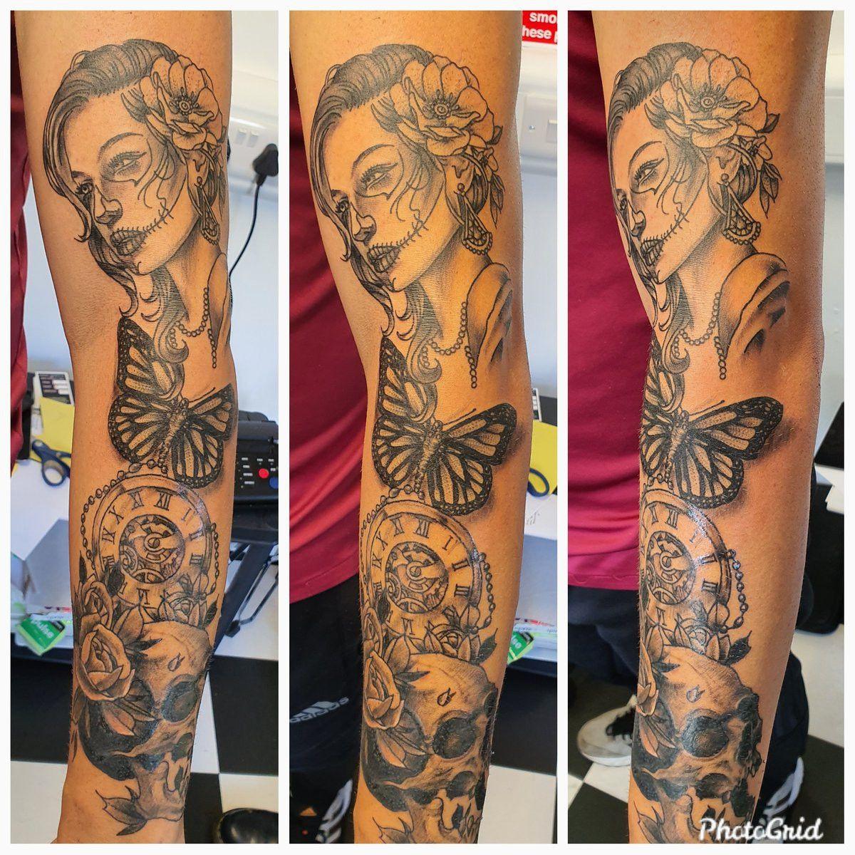 Pin by Jennifer Zimnox on tattoo in 2020 Half sleeve