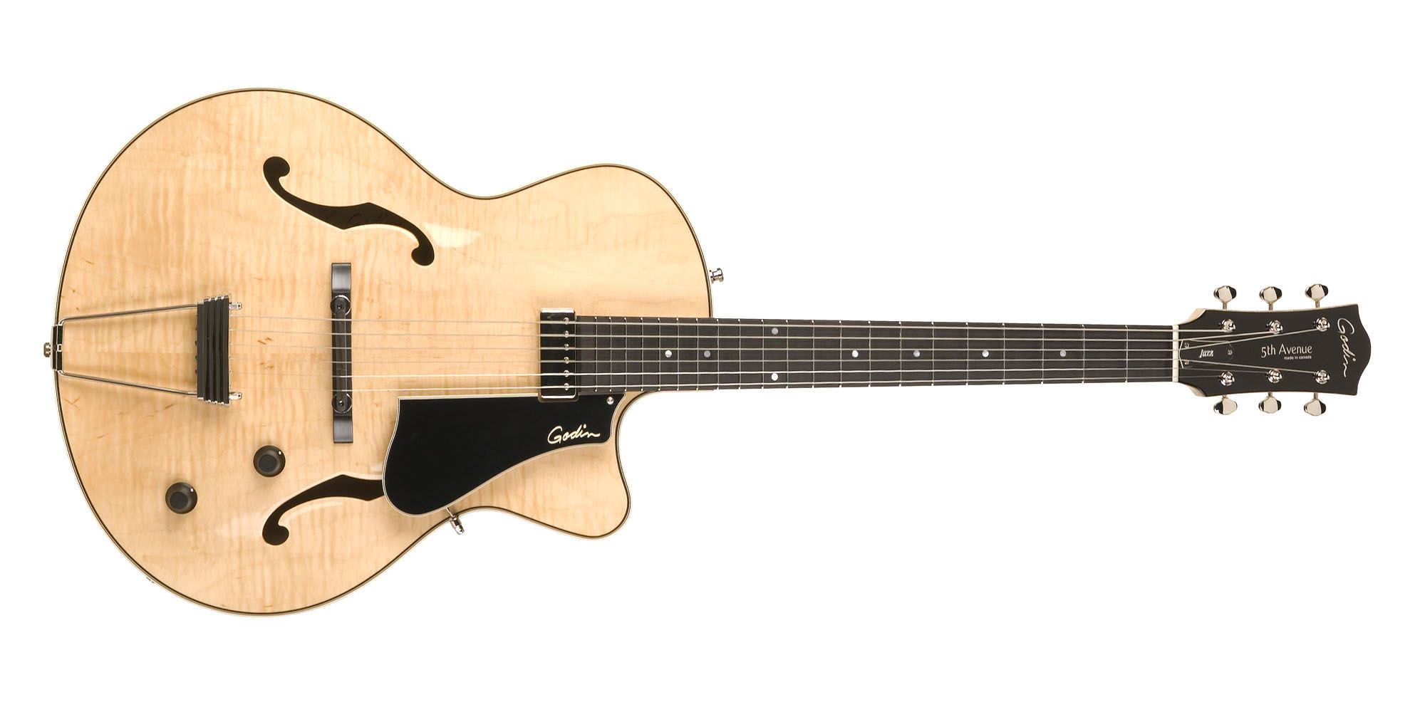 5th Avenue Jazz Natural Flame AAA | Godin Guitars