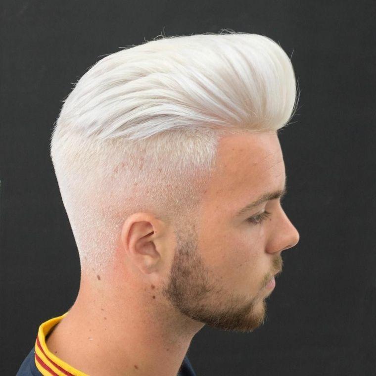 Pin En White Colored