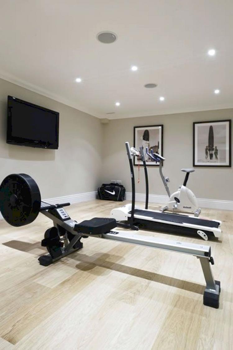 Awesome Fitness Room Decor Ideas Gym