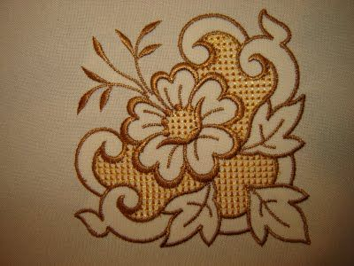 bordado de manteles