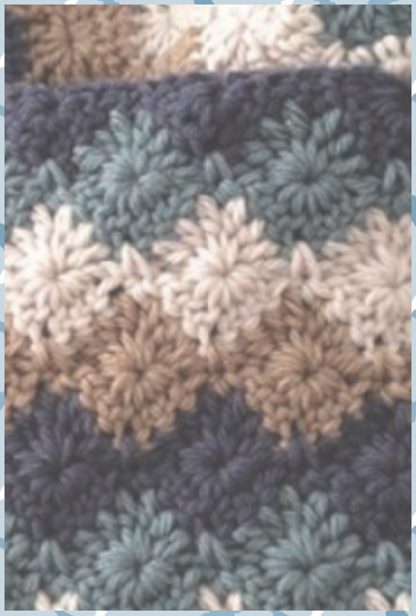 20+ Eye-Catching Crochet Stitches – with tutorials - Crochet #crochet #EyeCatching #Stitches #tutorials