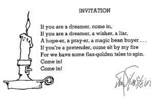 Invitation Shel Silverstein Plants And Gardening Writer Quotes