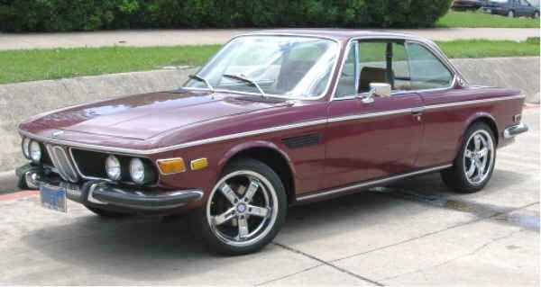 BMW 3.0 CS -1972 This was my last CS.  With elect windows, A/C, Leather, never spent time in the rain.  Bought it in 2004 and sold it in 2011...sure do miss it!