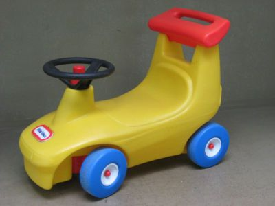 Little Tikes Ride On Toys : Vintage little tikes ride on race car child s riding toy yellow
