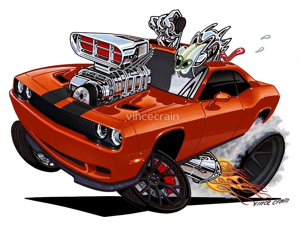 Vince Crain High Octane art presents HELLCAT a Dodge