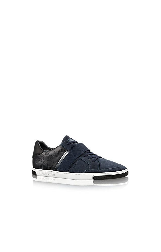 Discover Louis Vuitton Cover Sneaker via Louis Vuitton