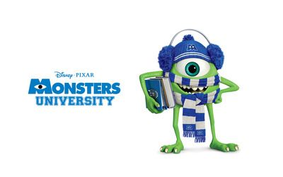Mike Wazowski Monsters University Wallpaper
