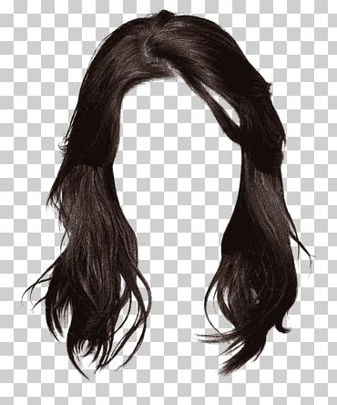 Long Hair Brown Hair Black Hair Hairstyle Western Style Long Hair Brunette Graphic Material Black Wig Chinese Sty In 2021 Long Hair Styles Black Hair Wigs Black Wig