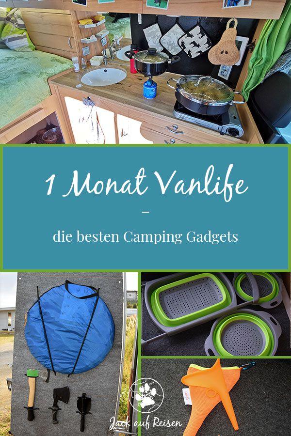 Photo of 1 Monat Vanlife – die besten Camping Gadgets