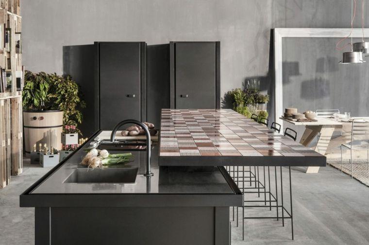 esempio-cucine-moderne-in-muratura-color-grigio-scuto-isola ...