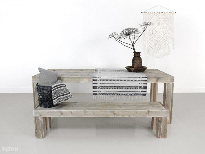Bauholz Tisch Linus Küche Wohnideen Wohnzimmer Büro Garten - beistelltisch für küche