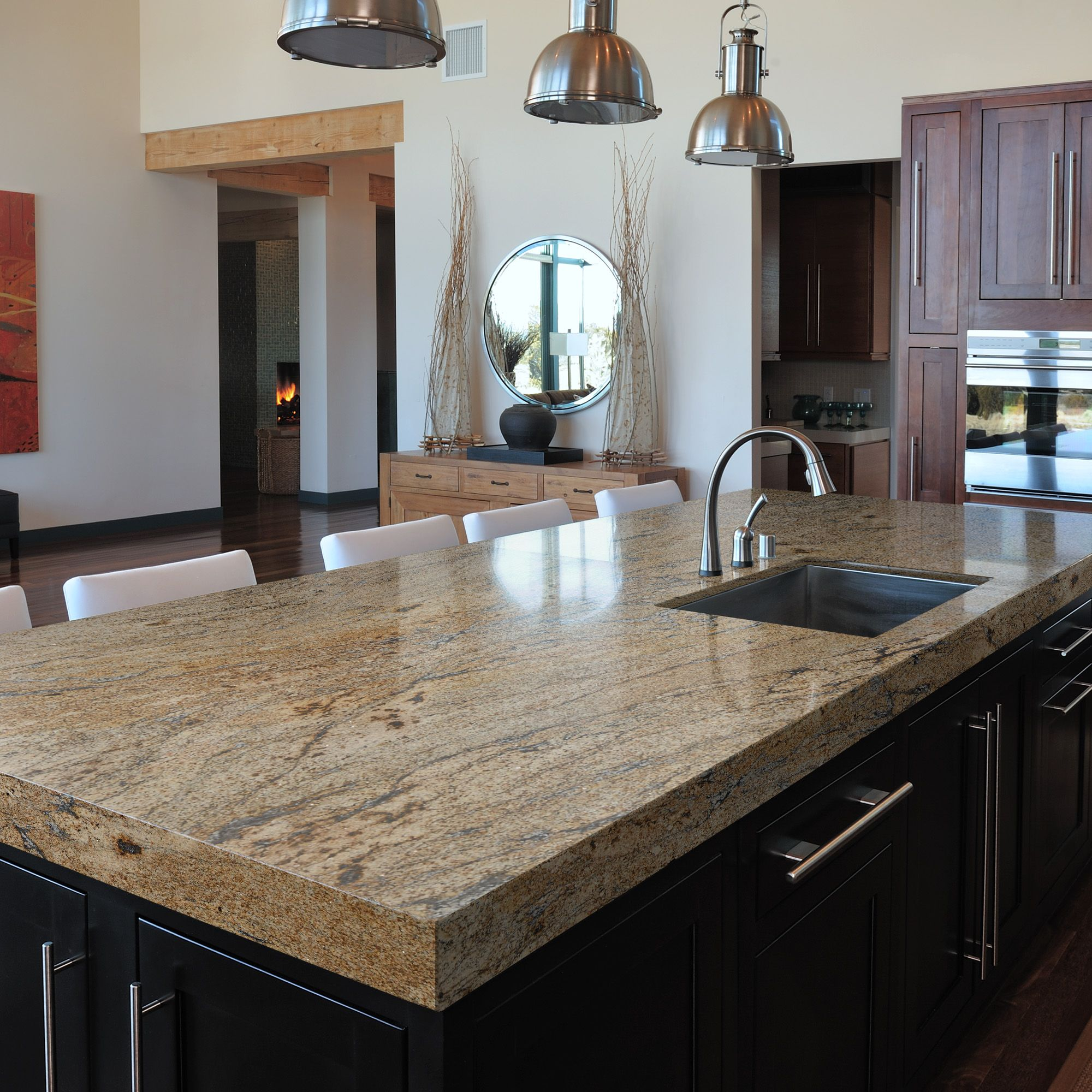 Our granite for our new kitchen ira picked out awesome for Cabine el dorado