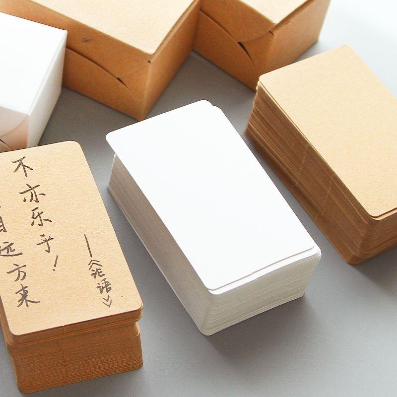 100pcs\/pack Writing Memo Pad Notebook Business Paper Cards - memo sample in word