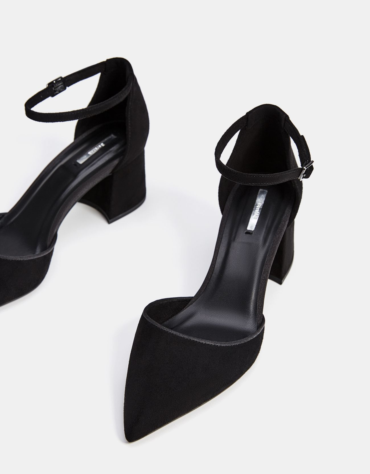 20855f80aa263 Mid-heel shoes with ankle straps. Discover this and many more items in  Bershka with new products every week