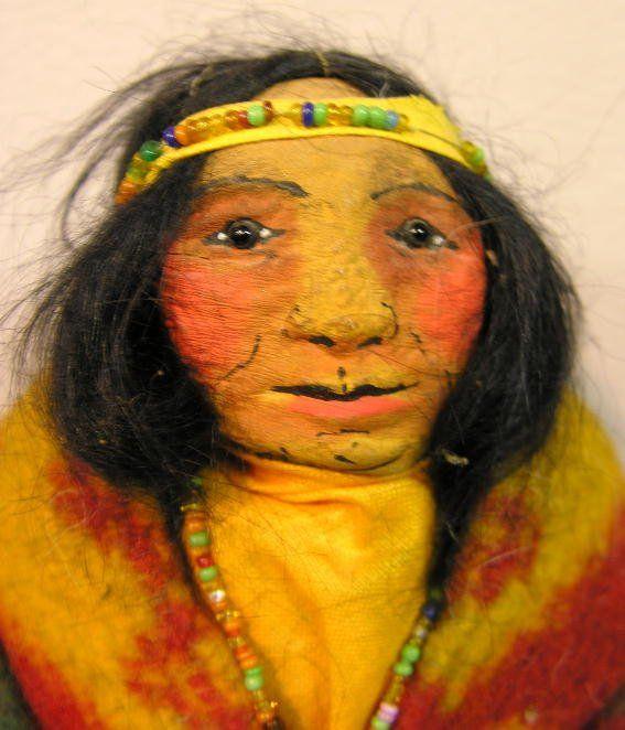 Skookum, Mary Frances Woods doll.