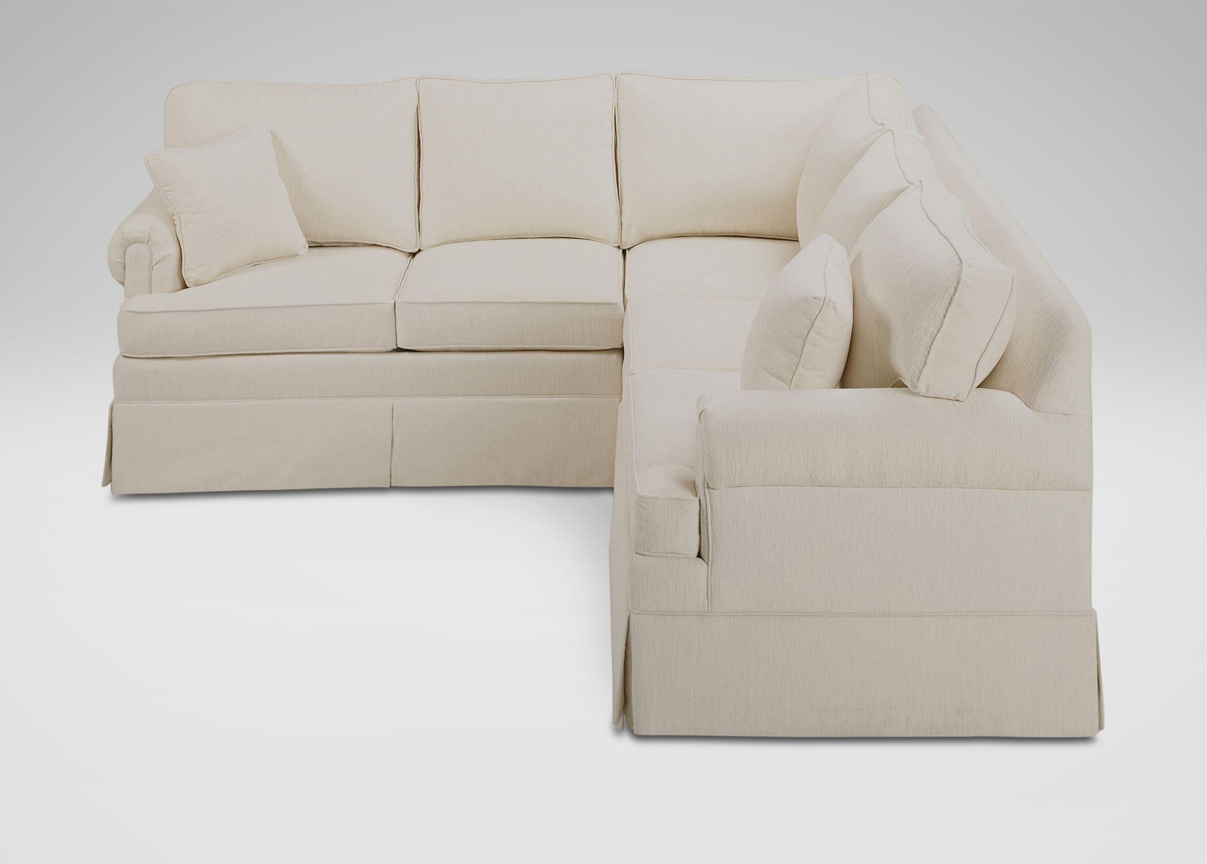 Ethan Allen Paramount Loveseat, Bunfoot | Paramount Sofa Options | Pinterest