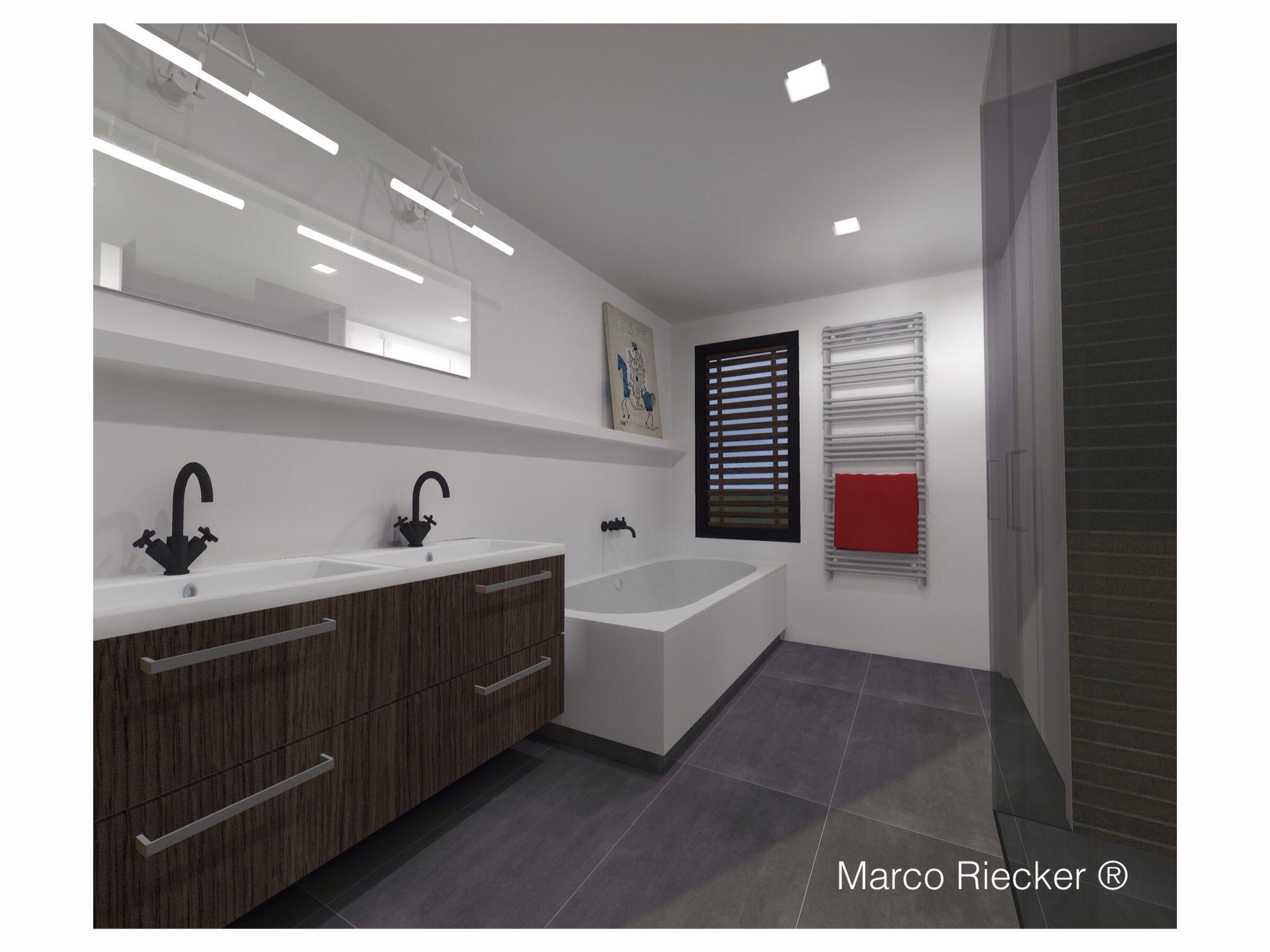 Badkamer Beemster SketchUp Marco Riecker ® made this | Marco Riecker ...