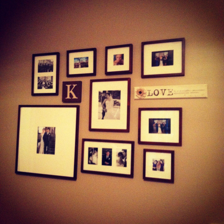 Multimedia photo wall | Around The House | Pinterest | Photo wall ...