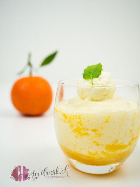 Mandarinen Mousse, himmlisch leicht #holidaydesserts