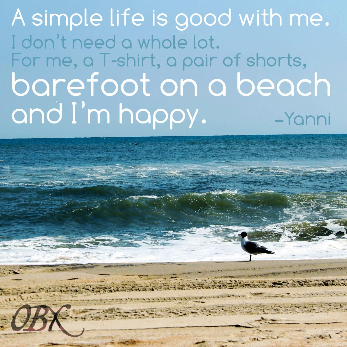 Barefoot On The Beach ... #outerbanks