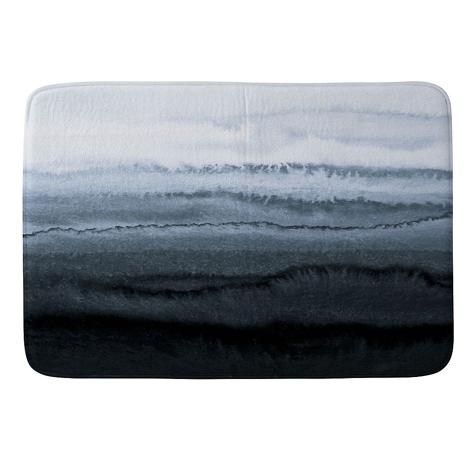 Deny Designs 24 X 36 Within The Tides Memory Foam Bath Mat In