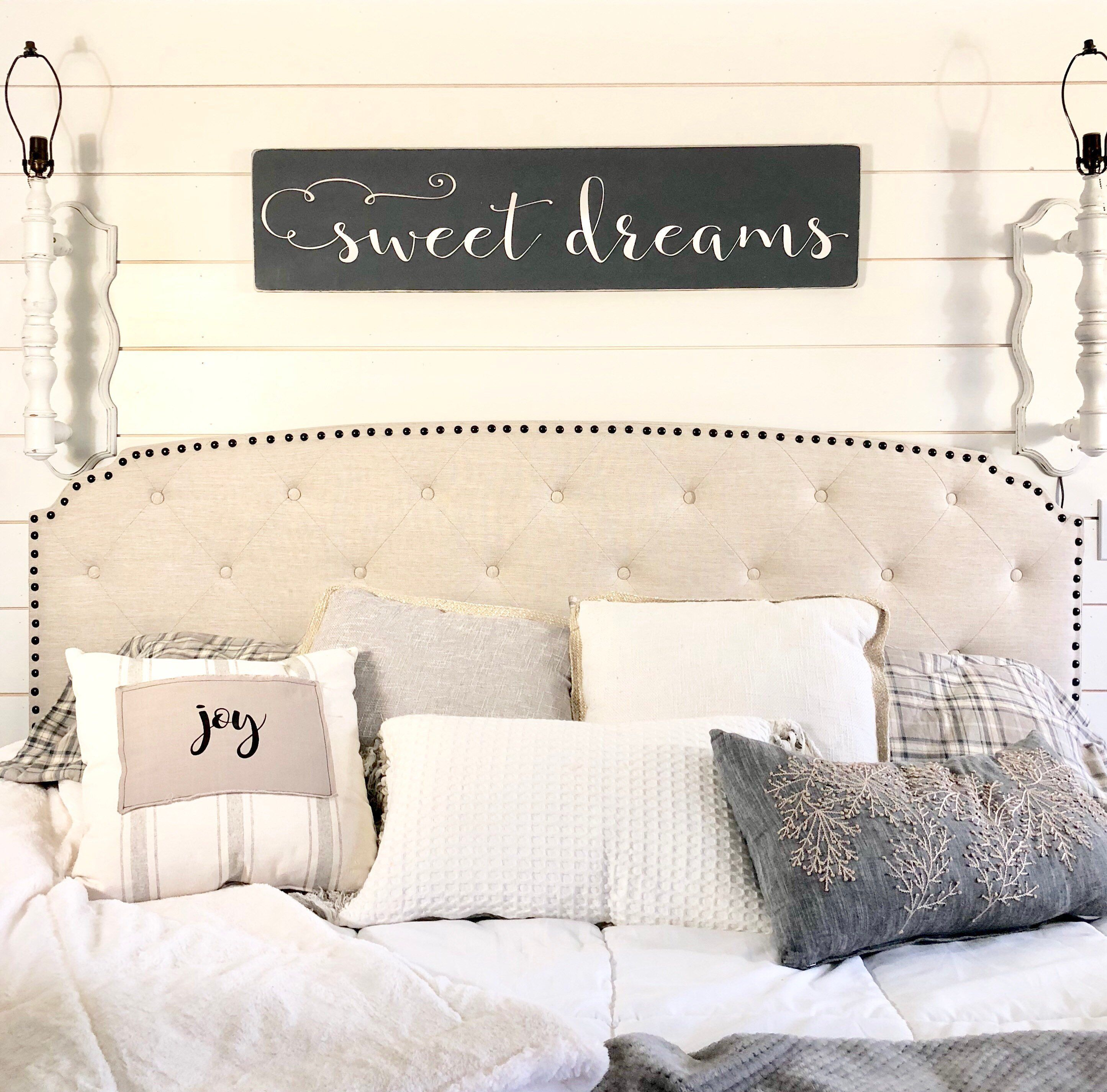 Sweet Dreams Sign Bedroom Wall Decor Rustic Wood Sign Etsy Wall Decor Bedroom Rustic Wood Signs Bedroom Wall