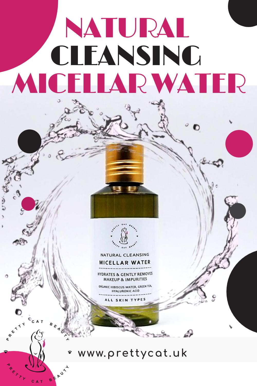 Natural Cleansing Micellar Water SoapFree powerful
