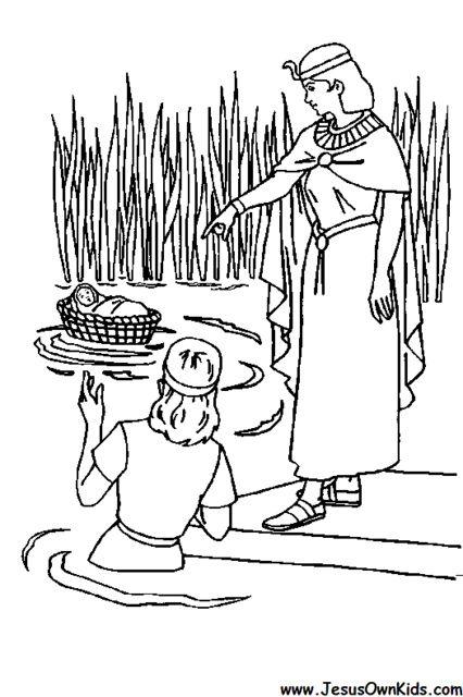 2b. Exodus - Moses - Found by the egyptian Princess www.JesusOwnKids ...