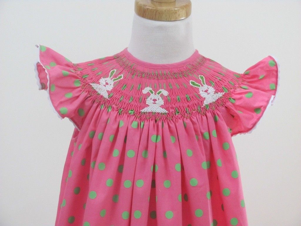 35a3741aa Smocked easter dress Bunnies smocked dresses