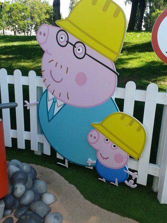 Il cantiere del sig. Toro con peppa Pig