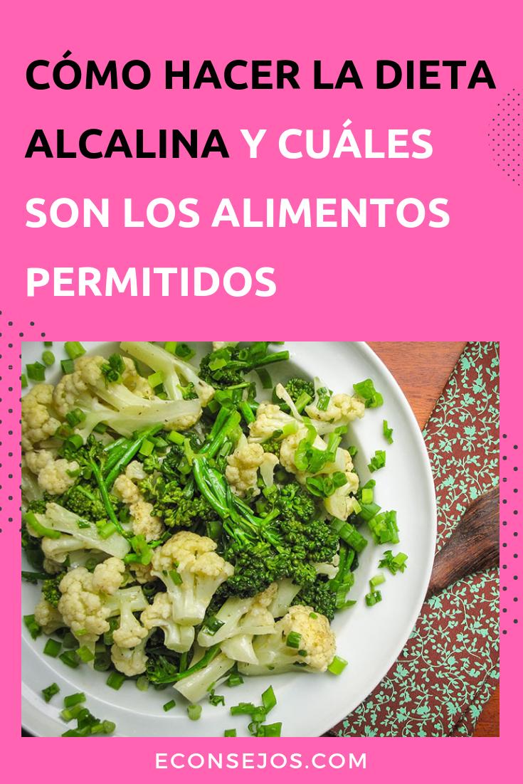 Dieta alcalina alimentos prohibidos
