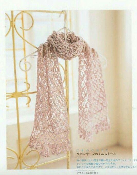 Pin de Yolanda Pulles en Crochet adult scarfs/cowls/neck warmers #4 ...