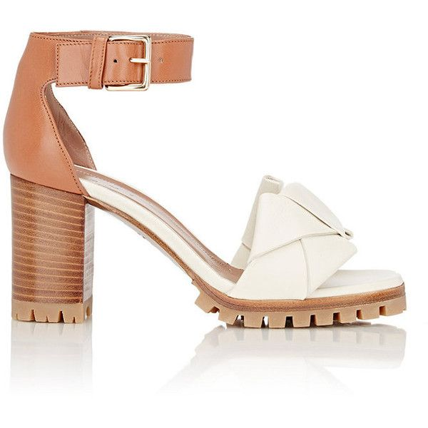 98ad73426f91 Marni Women s Bow-Detail Sandals ( 409) ❤ liked on Polyvore featuring shoes