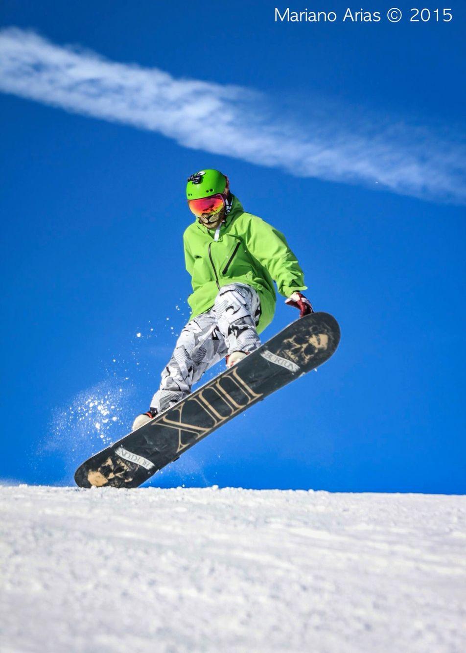 Snowboard sesión en Andorra La Vella!