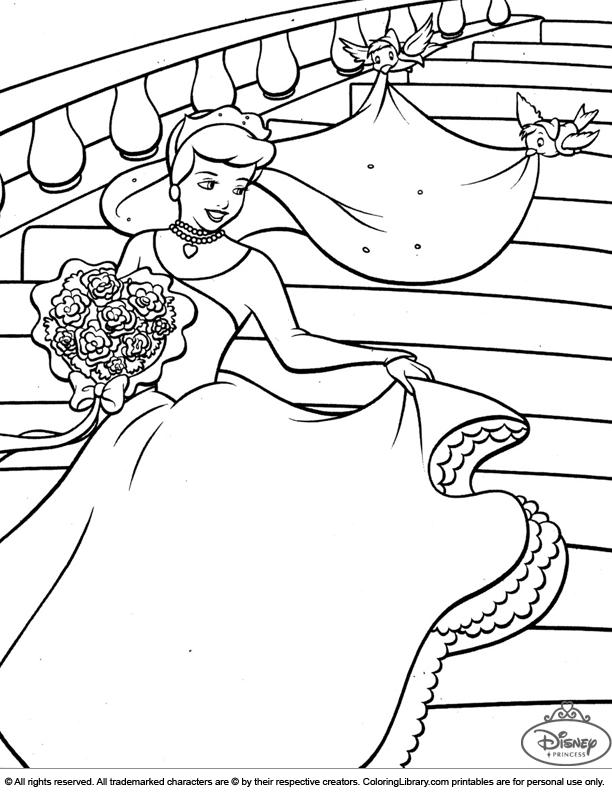 Disney Princesses Coloring For Kids