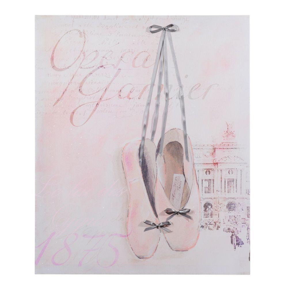 maisons du monde see more toile ballerine opra - Maison Du Monde Ballerina