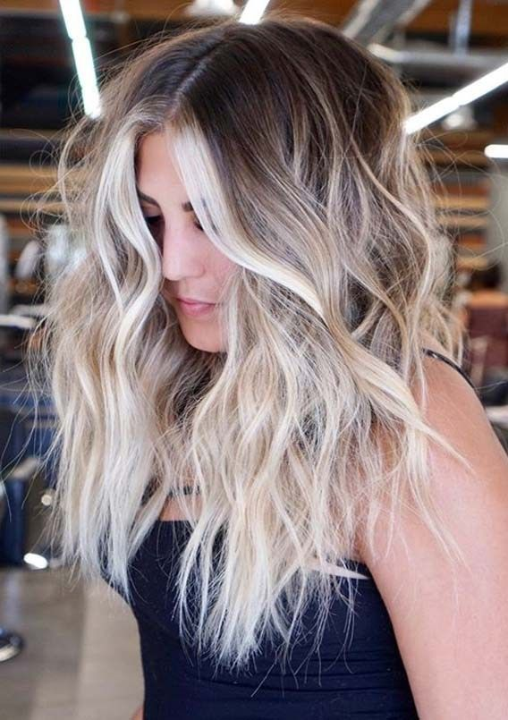 Fresh Blonde Hair Colors Contrasts for Women to Sp