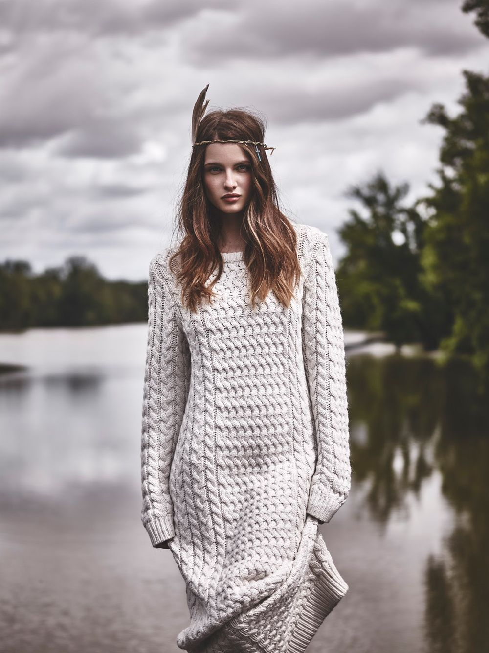 We love knitwear! Douceur Boho