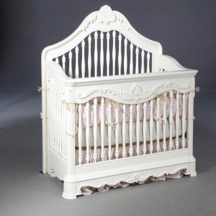 Creations Baby Venezia Convertible Crib In Vanilla 6040