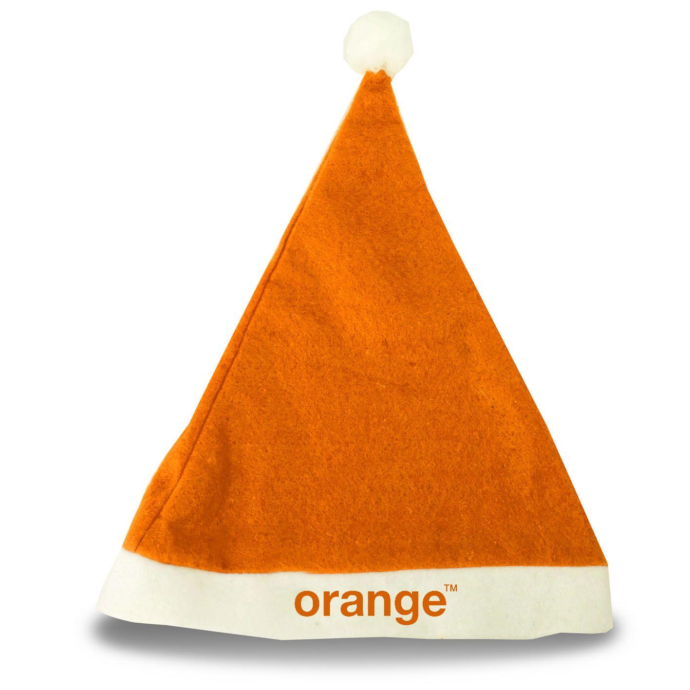 8b4d6539c8aef Gorro de Navidad Naranja